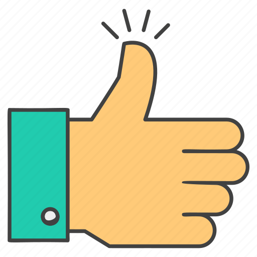 feedback, hand gesture, ok, social like, thumbs up, well done icon