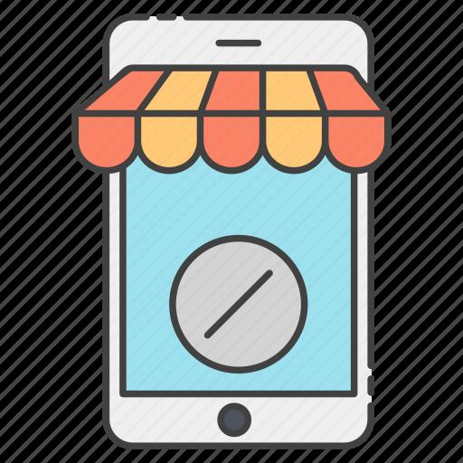 buy online, discount app, m commerce, mobile shop, online shop, online shopping, shopping discount icon