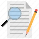 article, blog post, on page seo, seo, seo article, seo writing, write article icon