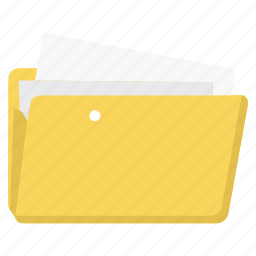 business, document, file, folder, folders, paper icon
