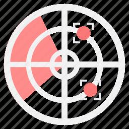 aim, arrow, bullseye, focus, goal, target icon