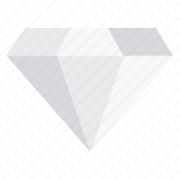 diamond, gem, jewel, office, quality, work icon