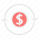 business, currency, dollar, marketing, money, payment, sign icon