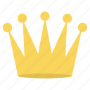 achievement, crown, medal, prince, prize, win, winner icon