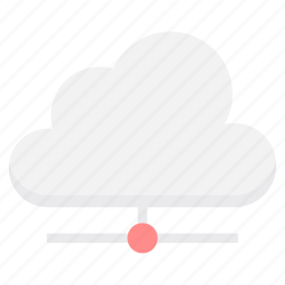 cloud, computing, connection, internet, network, server, storage icon