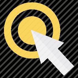 click, cursor, online, pay per click, pay per use, ppc, ppu icon
