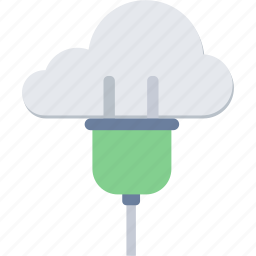 cloud, communication, connection, interaction, internet, network icon