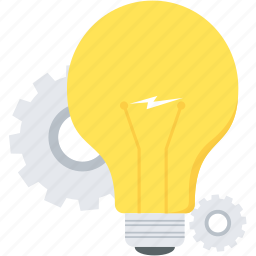 bulb, creative, energy, idea, lamp, light, power icon