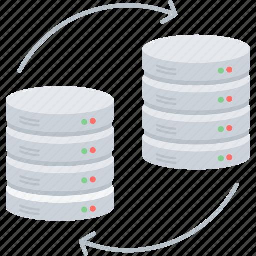 chart, data, database, hosting, server, share, transfer icon