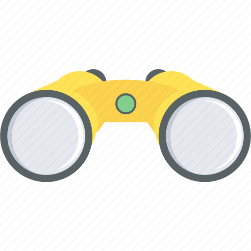 binocular, binoculars, explore, find, magnifier, search, seo icon
