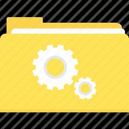 folder, internet, network, setting, settings, web icon