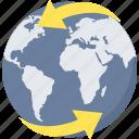 global, web, browser, internet