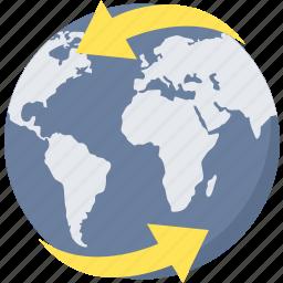 browser, global, internet, web icon