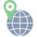 direction, gps, location, map, navigation, seo icon