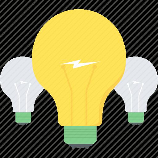 brain, bulb, business, creativity, idea, innovation, power icon