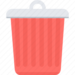 bin, close, delete, garbage, recycle, remove, trash icon