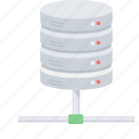 data, database, drive, hosting, server, storage icon