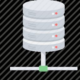 data, database, drive, hosting, server, storage icon