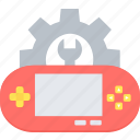advance options, control, development, game, setting, settings, tools icon