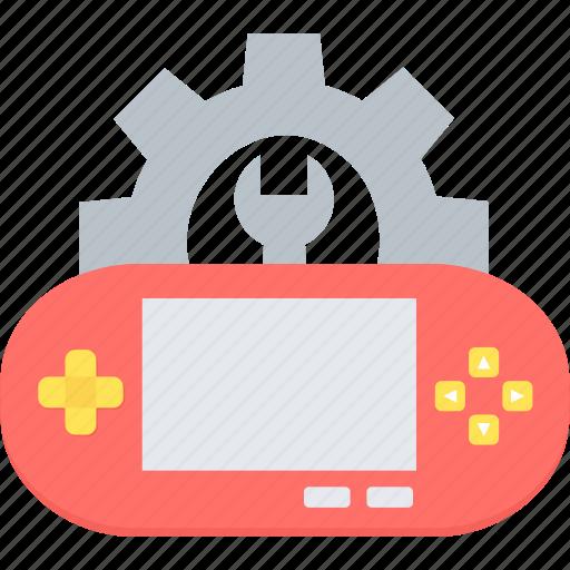 advance options, control, development, game, setting, settings, tools icon