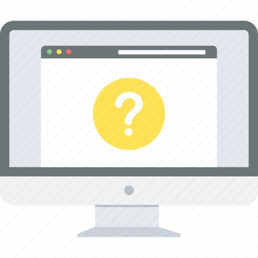 faq, help, info, query, question, support icon