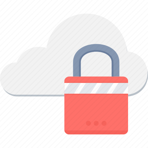 cloud, password, protection, safety, security, server icon