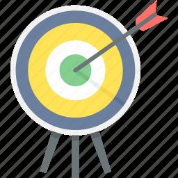 aim, archery, bullseye, dartboard, direction, goal, target icon