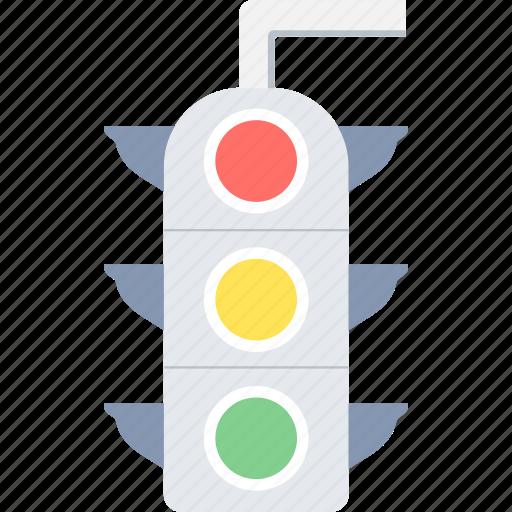 light, road, signal, stop, traffic, traffic lights, transport icon