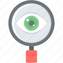 magnifier, optimization, search, seo, view icon