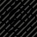 cogwheel, man, seo, and, web