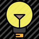 bulb, creative, energy, idea, light icon
