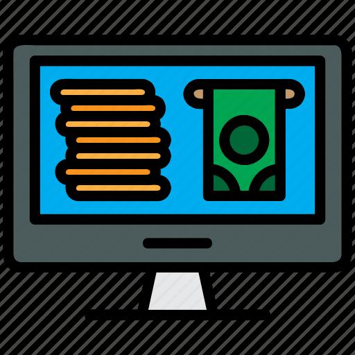 banking, ecommerce, internet, online, shopping icon