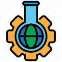 chemistry, experiment, lab, laboratory, research, science icon