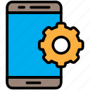 computer, device, mobile, phone, smartphone icon