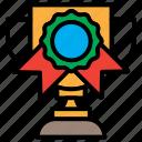 achievement, award, prize, reward, trophy, winner icon
