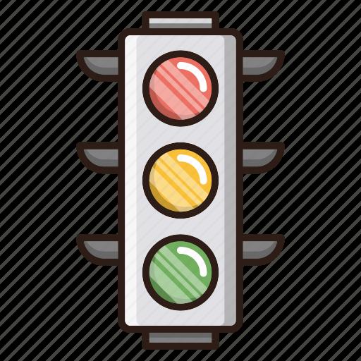 lights, optimization, seo, traffic, web icon