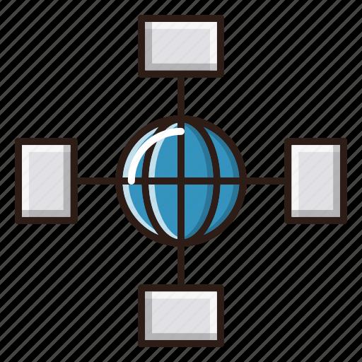 internet, network, optimization, seo, web icon
