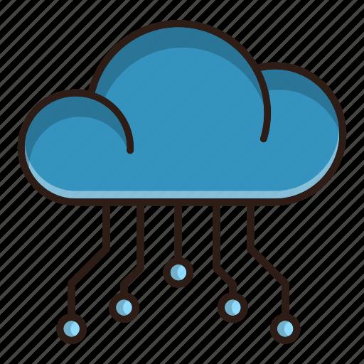 cloud, computing, database, optimization, seo, web icon