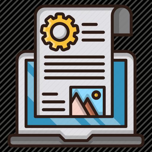 blog, management, optimization, seo, web icon