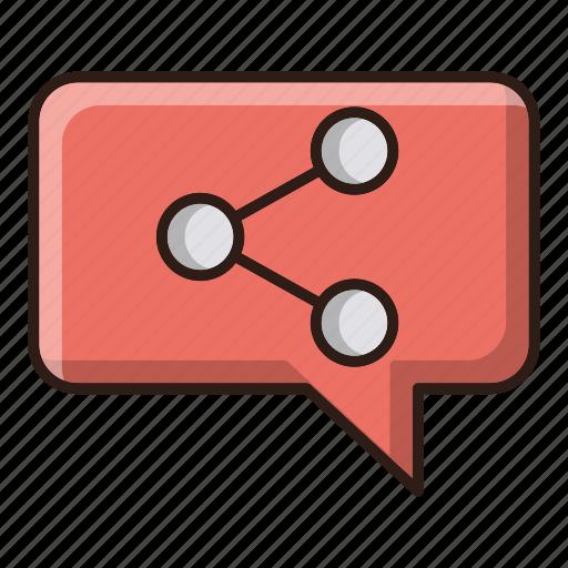 optimization, seo, share, web icon