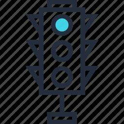 control, lights, optimization, regulation, seo, street, traffic icon