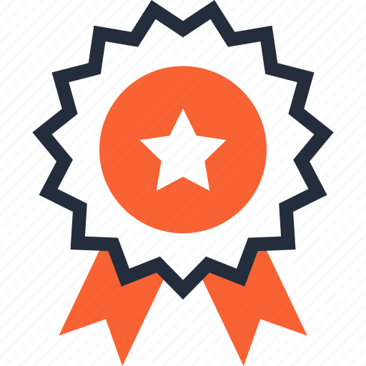 achievement, award, badge, prize, quality, reputation, success icon