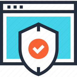 defense, online, protection, safety, security, shield, web icon