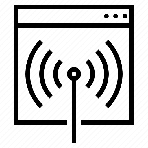 internet connection, ping, pinging, web, website, wifi, wifi connection icon