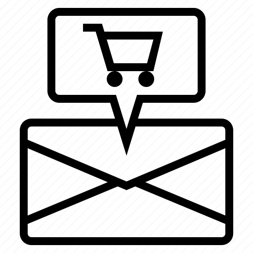 email advertising, email advertisment, email marketing, shipping, shipping address icon