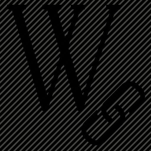 seo, wiki backlink, wiki link, wiki site link, wiki website link, wikipedia backlink icon