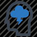 brainstorm, creative, creativity icon