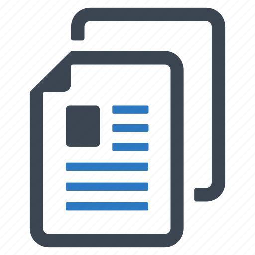article, blog, document icon