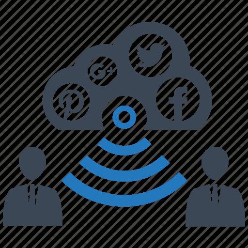 connect, seo pack, seo tools, social, web designer, web marketing icon