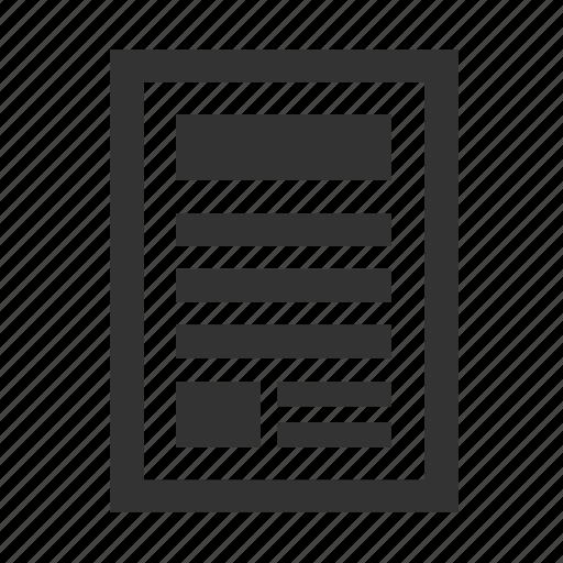 advertising, magazine, news, newspaper, press icon